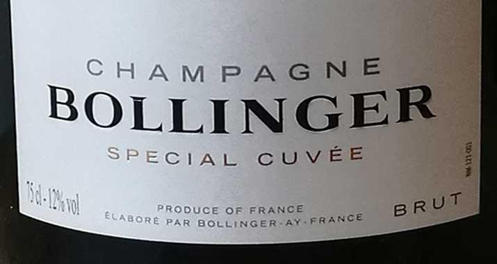 Champagne, Prosecco of Cava
