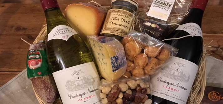 Relatiegeschenken wijn kaas 2018